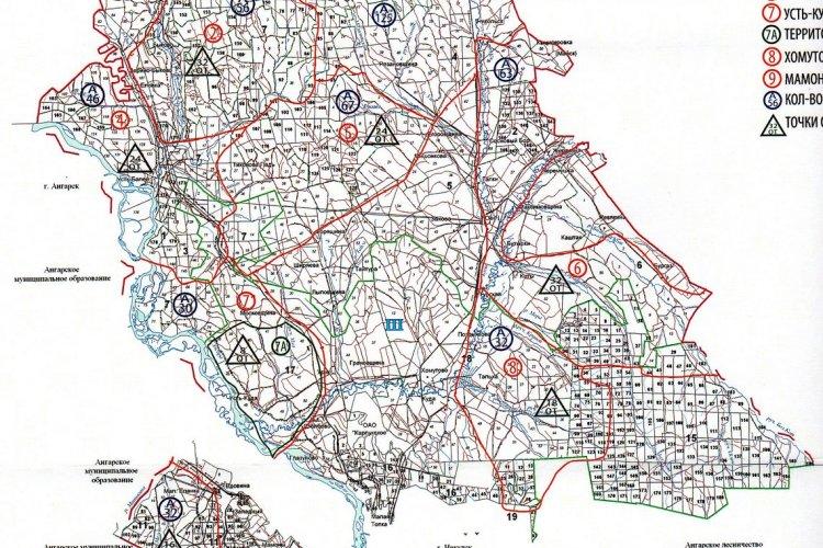 Карта хозяйства